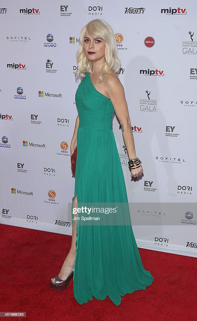 Actress <a gi-track='captionPersonalityLinkClicked' href=/galleries/search?phrase=Taryn+Manning&family=editorial&specificpeople=202146 ng-click='$event.stopPropagation()'>Taryn Manning</a> attends the 41st International Emmy Awards at the Hilton New York on November 25, 2013 in New York City.