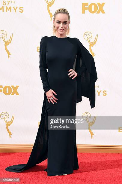 Actress Taryn Manning attends the 67th Annual Primetime Emmy Awards at Microsoft Theater on September 20 2015 in Los Angeles California