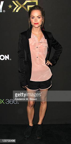 Actress Taryn Manning attends the Activision's Ultimate 'Call of Duty XP' Fan Experience at The Stages at Playa Vista on September 3 2011 in Los...