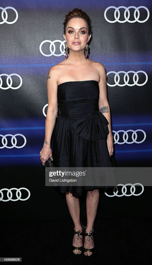 Actress <a gi-track='captionPersonalityLinkClicked' href=/galleries/search?phrase=Taryn+Manning&family=editorial&specificpeople=202146 ng-click='$event.stopPropagation()'>Taryn Manning</a> attends the Audi celebration of Emmys Week 2014 at Cecconi's Restaurant on August 21, 2014 in Los Angeles, California.