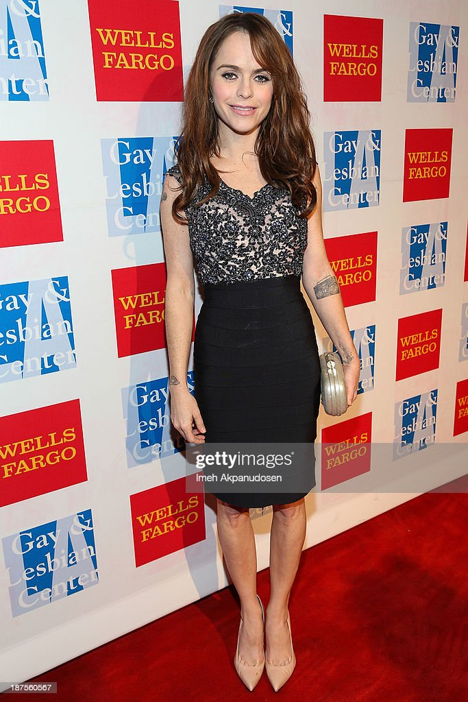 Actress <a gi-track='captionPersonalityLinkClicked' href=/galleries/search?phrase=Taryn+Manning&family=editorial&specificpeople=202146 ng-click='$event.stopPropagation()'>Taryn Manning</a> attends the L.A. Gay & Lesbian Center's 42nd Anniversary Vanguard Awards Gala at Westin Bonaventure Hotel on November 9, 2013 in Los Angeles, California.