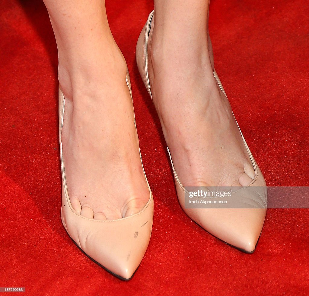 Actress Taryn Manning (shoe detail) attends the L.A. Gay & Lesbian Center's 42nd Anniversary Vanguard Awards Gala at Westin Bonaventure Hotel on November 9, 2013 in Los Angeles, California.