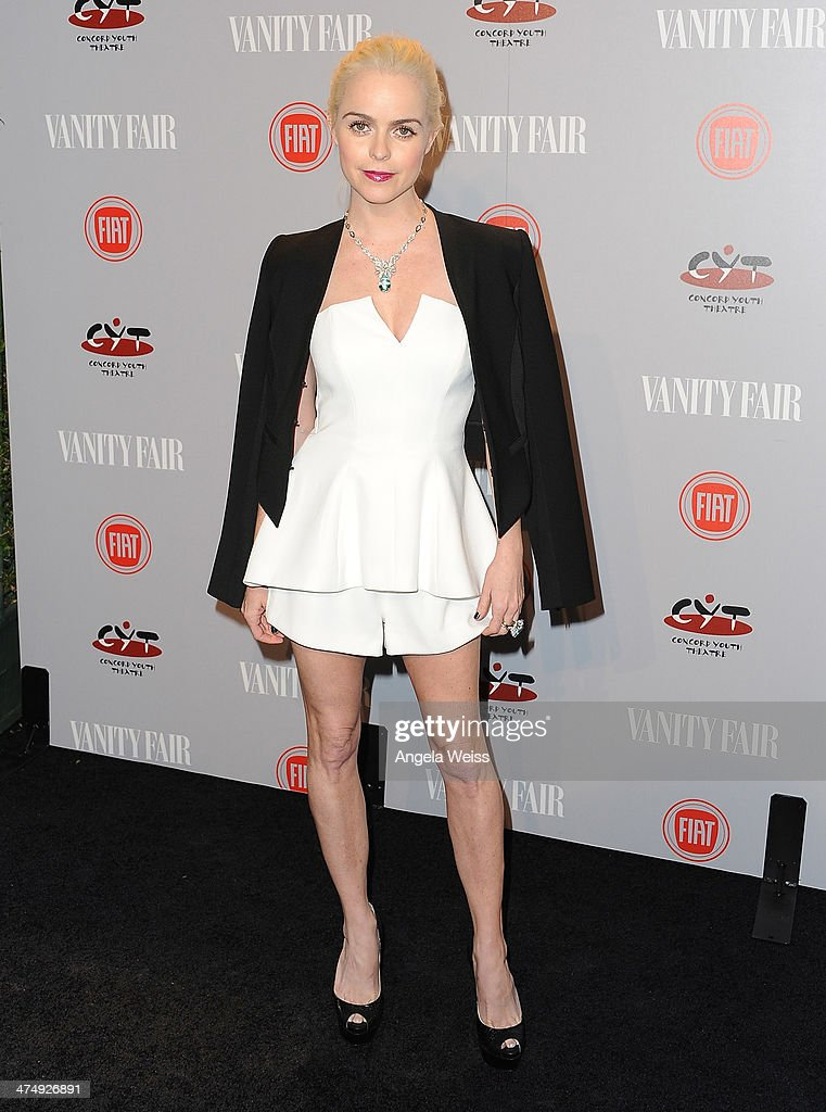 Actress <a gi-track='captionPersonalityLinkClicked' href=/galleries/search?phrase=Taryn+Manning&family=editorial&specificpeople=202146 ng-click='$event.stopPropagation()'>Taryn Manning</a> attends the Vanity Fair Campaign Hollywood 'Young Hollywood' party sponsored by Fiat at No Vacancy on February 25, 2014 in Los Angeles, California.