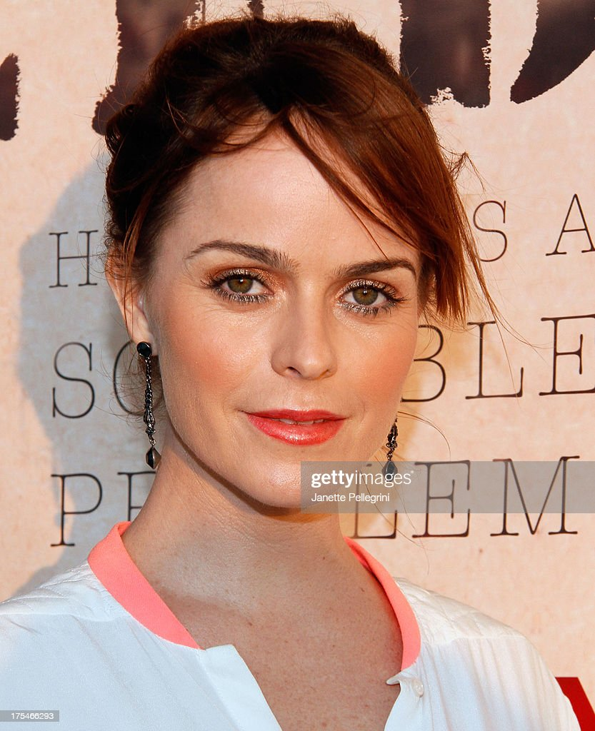 Actress Taryn Manning attends Women's Health Hamptons 'Party Under the Stars' for RUN10 FEED10 at Bridgehampton Tennis and Surf Club on August 3 2013...