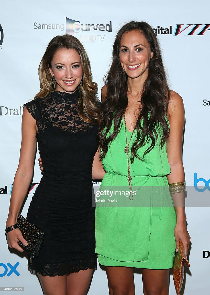 Actress <a gi-track='captionPersonalityLinkClicked' href=/galleries/search?phrase=Taryn+Southern&family=editorial&specificpeople=795769 ng-click='$event.stopPropagation()'>Taryn Southern</a> (L) and Julia Price attend the 'Producers Guild Digital VIP Event' held at Soho House on June 6, 2014 in West Hollywood, California.