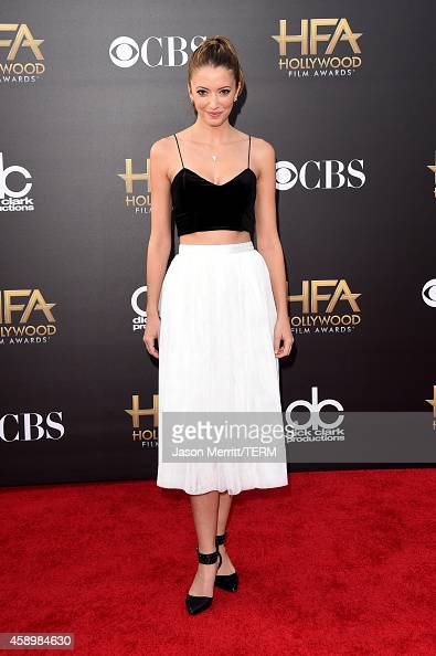 Actress Taryn Southern attends the 18th Annual Hollywood Film Awards at The Palladium on November 14 2014 in Hollywood California