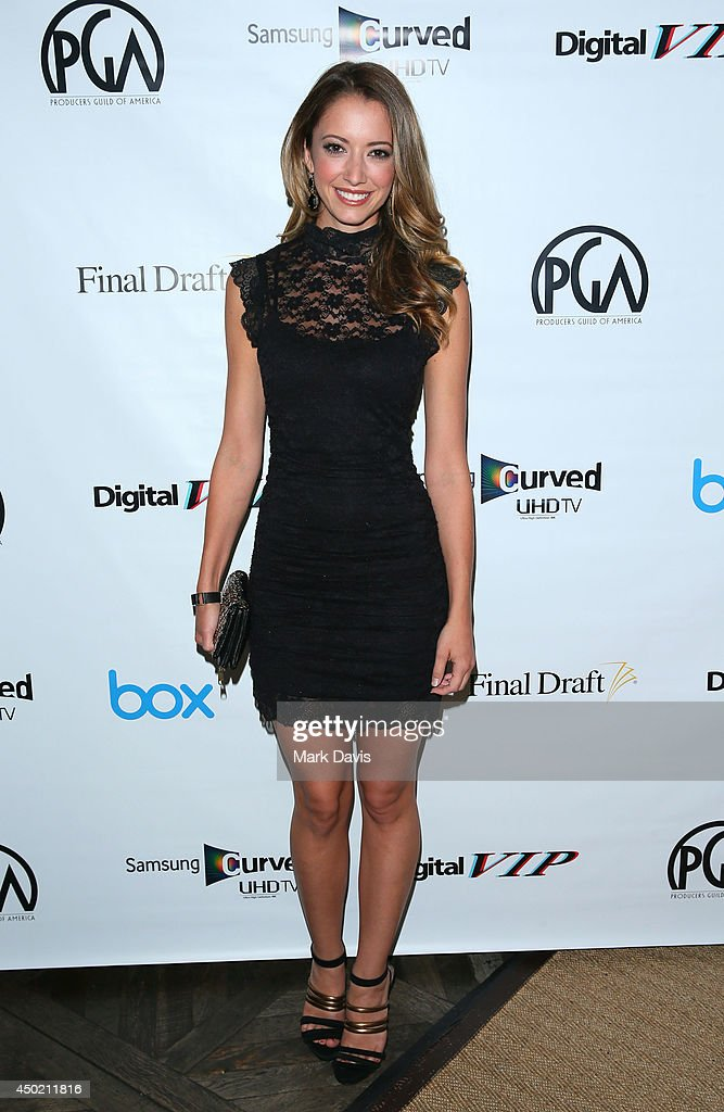 Actress <a gi-track='captionPersonalityLinkClicked' href=/galleries/search?phrase=Taryn+Southern&family=editorial&specificpeople=795769 ng-click='$event.stopPropagation()'>Taryn Southern</a> attends the 'Producers Guild Digital VIP Event' held at Soho House on June 6, 2014 in West Hollywood, California.