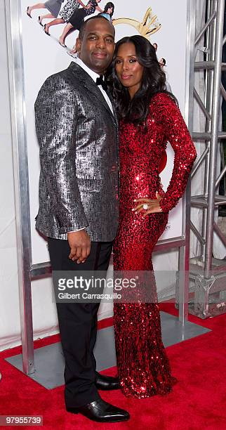 Actress Tasha Smith and guest attend the special screening of 'Why Did I Get Married Too' at the School of Visual Arts Theater on March 22 2010 in...