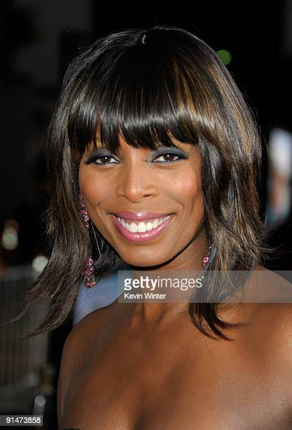 Actress Tasha Smith arrives at the Premiere Of Universal Pictures' 'Couples Retreat' held at Mann's Village Theatre on October 5 2009 in Westwood...