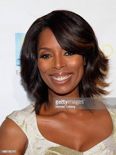 Actress Tasha Smith attends the 18th Annual PRISM Awards Ceremony at Skirball Cultural Center on April 22 2014 in Los Angeles California