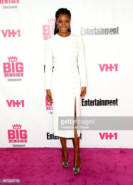 Actress Tasha Smith attends VH1 Big in 2015 With Entertainment Weekly Awards at Pacific Design Center on November 15 2015 in West Hollywood California