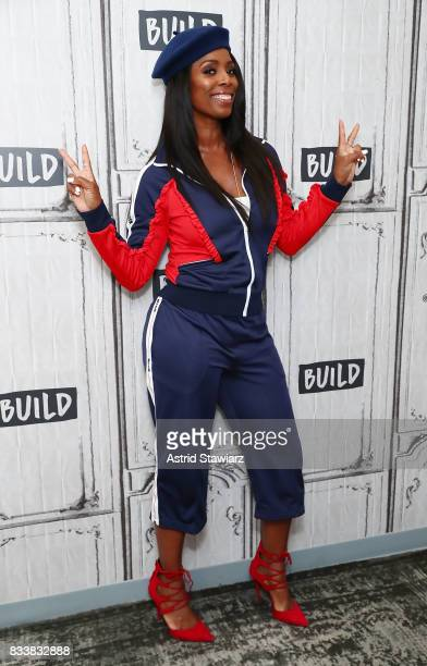 Actress Tasha Smith discusses the film 'When Love Kills' at Build Studio on August 17 2017 in New York City