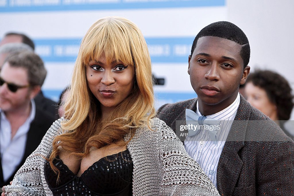 US actress Tashiana Washington and US actor Ty Hickson pose on the red carpet as she arrives to attend the awarding ceremony off the 38th Deauville's US Film Festival on September 8, 2012 in the French northwestern sea resort of Deauville.