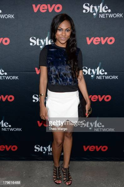 Actress Tashiana Washington attends the VEVO and Styled To Rock Celebration Hosted by Actress Model and Styled to Rock Mentor Erin Wasson with...