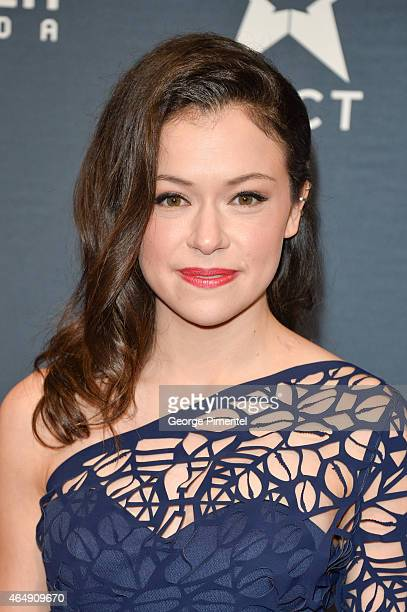 Actress Tatiana Maslany arrives at the 2015 Canadian Screen Awards at the Four Seasons Centre for the Performing Arts on March 1 2015 in Toronto...
