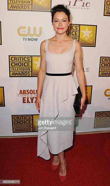 Actress Tatiana Maslany arrives at the 4th Annual Critics' Choice Television Awards at The Beverly Hilton Hotel on June 19 2014 in Beverly Hills...