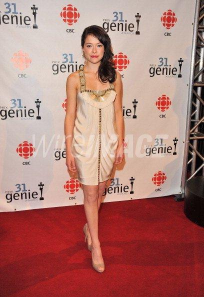 Actress Tatiana Maslany Attends The 31st Annual Genie Awards Gala At