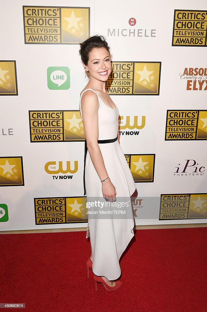 Actress Tatiana Maslany attends the 4th Annual Critics' Choice Television Awards at The Beverly Hilton Hotel on June 19, 2014 in Beverly Hills, California.