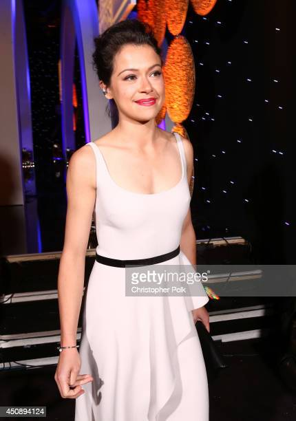 Actress Tatiana Maslany attends the 4th Annual Critics' Choice Television Awards at The Beverly Hilton Hotel on June 19 2014 in Beverly Hills...