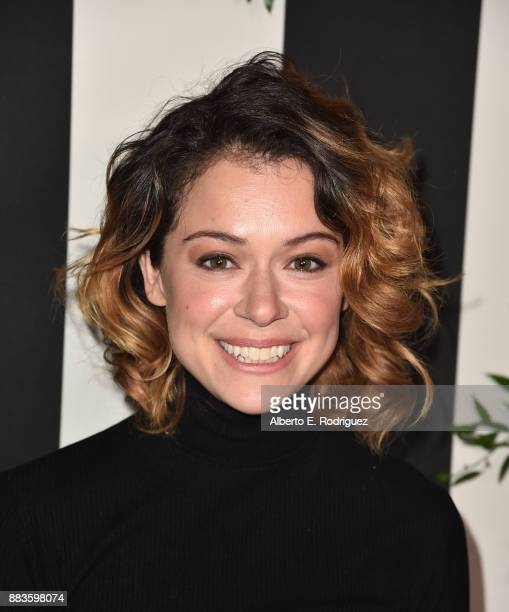 Actress Tatiana Maslany attends the Land of distraction Launch event at Chateau Marmont on November 30 2017 in Los Angeles California