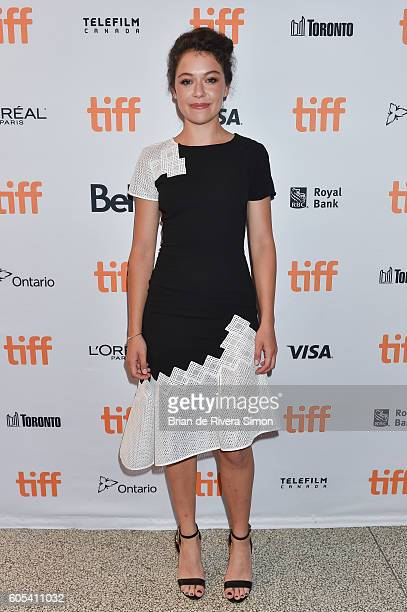Actress Tatiana Maslany attends the 'Two Lovers And A Bear' premiere during the 2016 Toronto International Film Festival at The Elgin on September 13...
