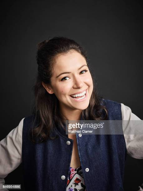 Actress Tatiana Maslany from 'Orphan Black' is photographed for Entertainment Weekly Magazine on July 22 2016 at Comic Con in the Hard Rock Hotel in...