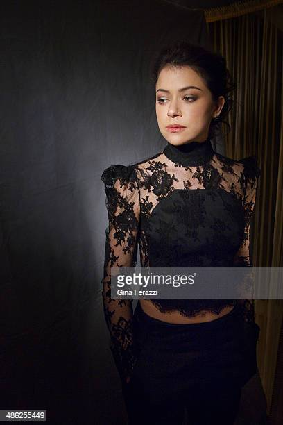 Actress Tatiana Maslany is photographed for Los Angeles Times on January 11 2014 in Pasadena California PUBLISHED IMAGE CREDIT MUST READ Gina...