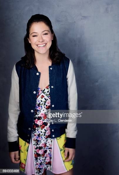 Actress Tatiana Maslany of 'Orphan Black' is photographed for Los Angeles Times at San Diego Comic Con on July 22 2016 in San Diego California