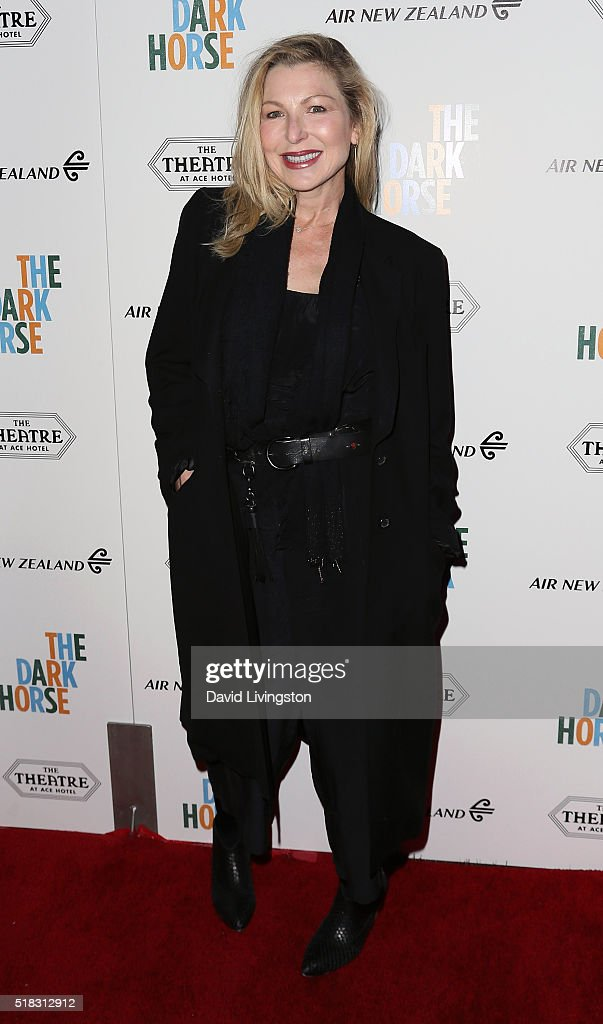 Actress Tatum O'Neal attends the premiere of Broad Green Pictures' 'The Dark Horse' at The Theatre at Ace Hotel on March 30, 2016 in Los Angeles, California.