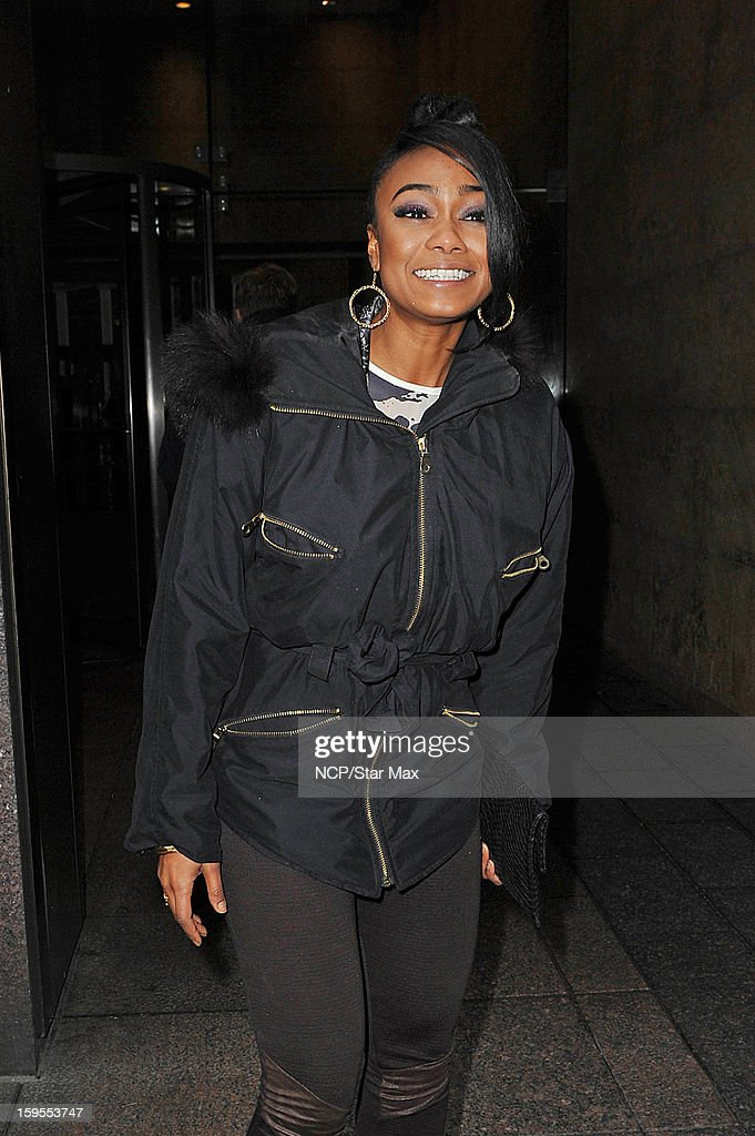 Actress Tatyana Ali as seen on January 15, 2013 in New York City.