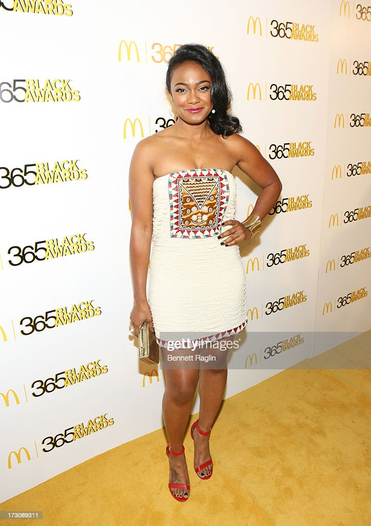 Actress Tatyana Ali attends the 2013 365 Black Awards at the Ernest N. Morial Convention Center on July 6, 2013 in New Orleans, Louisiana.