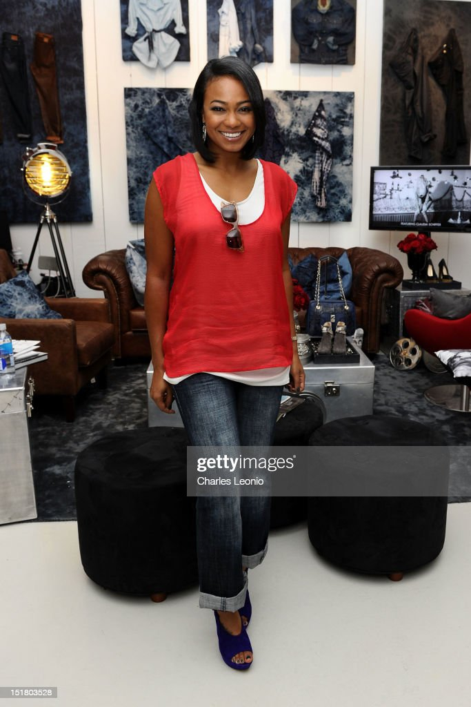 Actress Tatyana Ali attends the Guess Portrait Studio during 2012 Toronto International Film Festivalat at the Bell Lightbox on September 11, 2012 in Toronto, Canada.