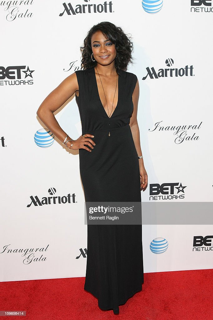 Actress Tatyana Ali attends the Inaugural Ball hosted by BET Networks at Smithsonian American Art Museum & National Portrait Gallery on January 21, 2013 in Washington, DC.