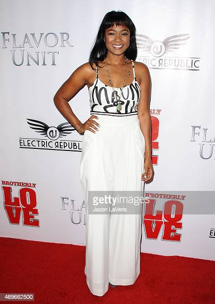 Actress Tatyana Ali attends the premiere of 'Brotherly Love' at ...