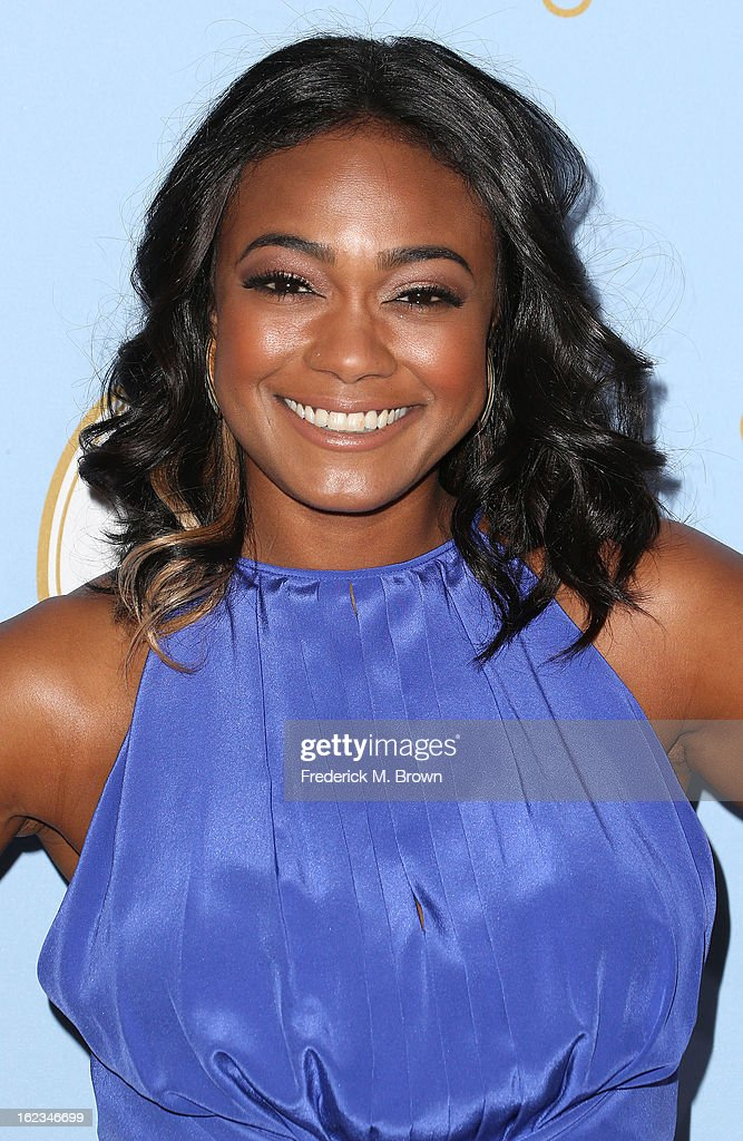 Actress Tatyana Ali attends the Sixth Annual ESSENCE Black Women In Hollywood Awards Luncheon at the Beverly Hills Hotel on February 21, 2013 in Beverly Hills, California.