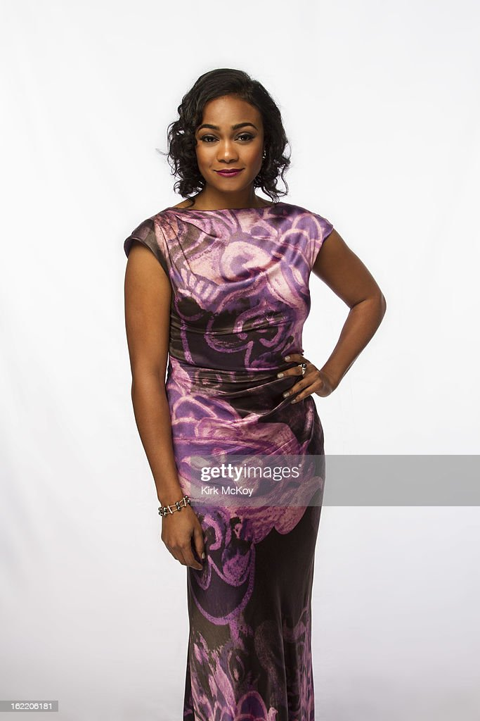 Actress Tatyana Ali is photographed at the NAACP Image Awards for Los Angeles Times on February 1, 2013 in Los Angeles, California. PUBLISHED IMAGE.