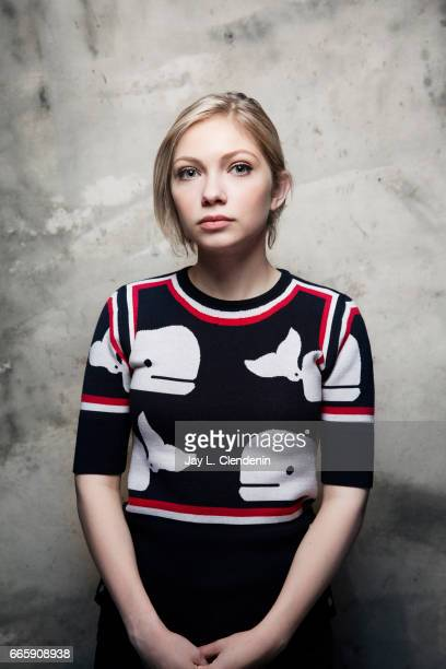 Actress Tavi Gevinson from the film 'Person to Person' is photographed at the 2017 Sundance Film Festival for Los Angeles Times on January 20 2017 in...