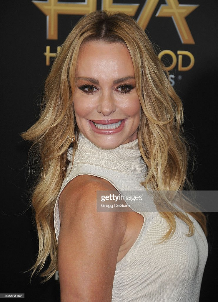 Actress Taylor Armstrong arrives at the 19th Annual Hollywood Film Awards at The Beverly Hilton Hotel on November 1, 2015 in Beverly Hills, California.