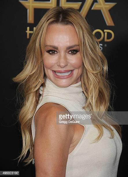 Actress Taylor Armstrong arrives at the 19th Annual Hollywood Film Awards at The Beverly Hilton Hotel on November 1 2015 in Beverly Hills California