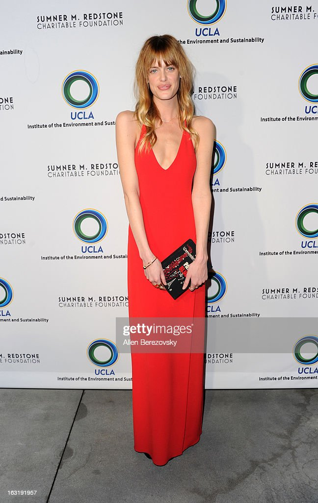 Actress Taylor Bagley attends UCLA Institute Of The Environment And Sustainability's 2nd Annual 'An Evening Of Environmental Excellence' - Arrivals on March 5, 2013 in Beverly Hills, California.