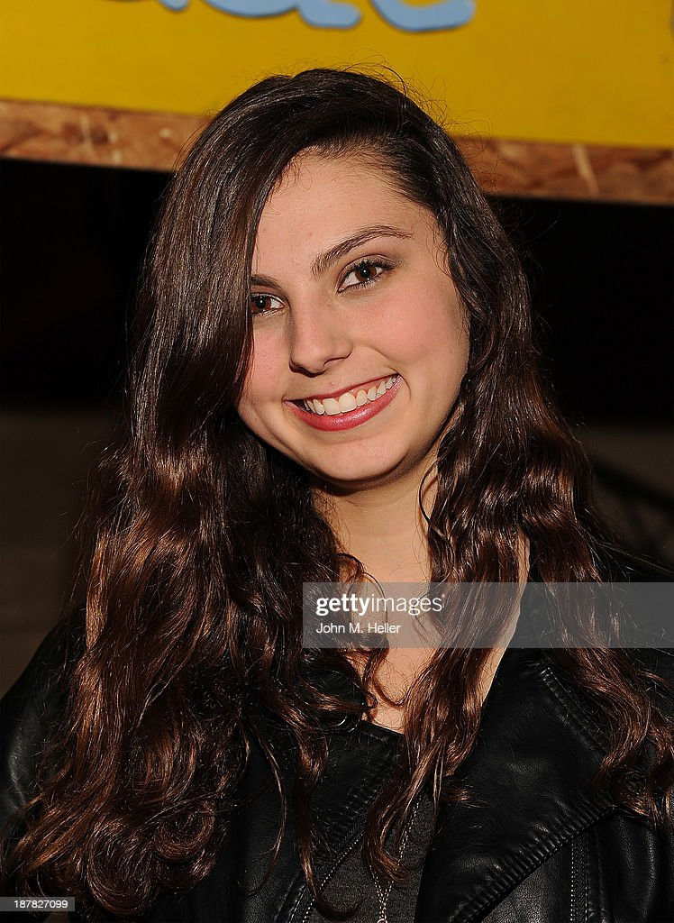 Actress Taylor Hay attends the screening of 'A Country Christmas' at the Pacific Theatre at The Grove on November 12, 2013 in Los Angeles, California.