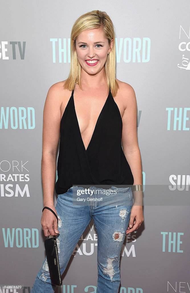 Actress Taylor Louderman attends 'The A Word' New York screening at Museum Of Arts And Design on June 28, 2016 in New York City.