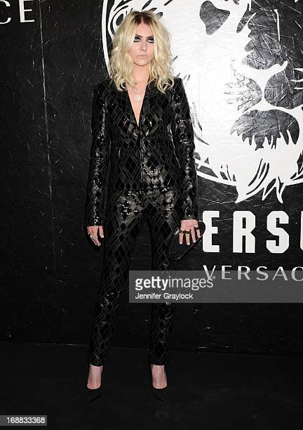Actress Taylor Momsen attends the Versus Versace launch hosted by Donatella Versace at the Lexington Avenue Armory on May 15 2013 in New York City