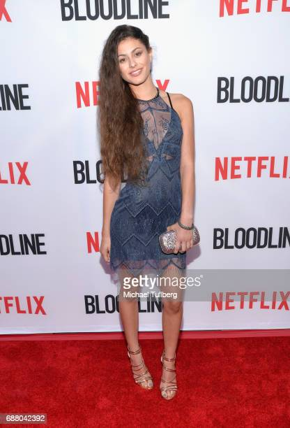 Actress Taylor Nicole Rouviere attends the Los Angeles premiere of Netflix's 'Bloodline' Season 3 at Arclight Cinemas Culver City on May 24 2017 in...