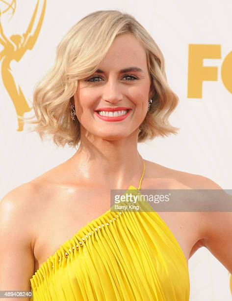 Actress Taylor Schilling arrives at the 67th Annual Primetime Emmy Awards at the Microsoft Theater on September 20 2015 in Los Angeles California