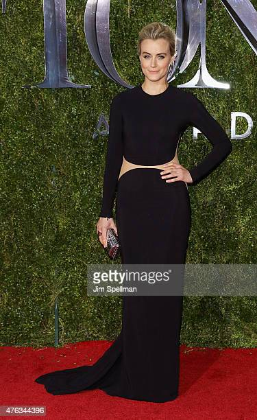 Actress Taylor Schilling attends American Theatre Wing's 69th Annual Tony Awards at Radio City Music Hall on June 7 2015 in New York City