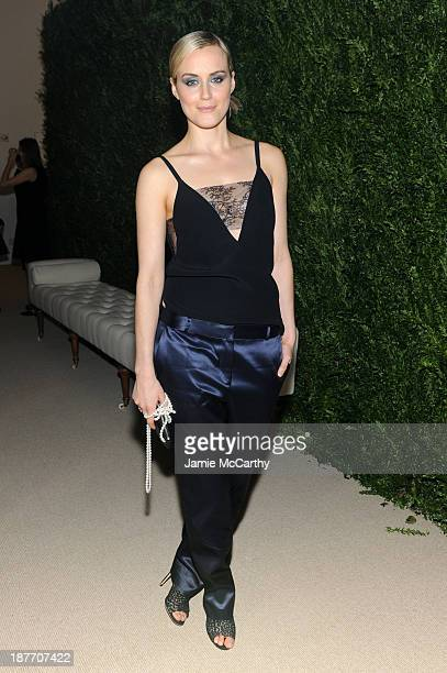 Actress Taylor Schilling attends CFDA and Vogue 2013 Fashion Fund Finalists Celebration at Spring Studios on November 11 2013 in New York City