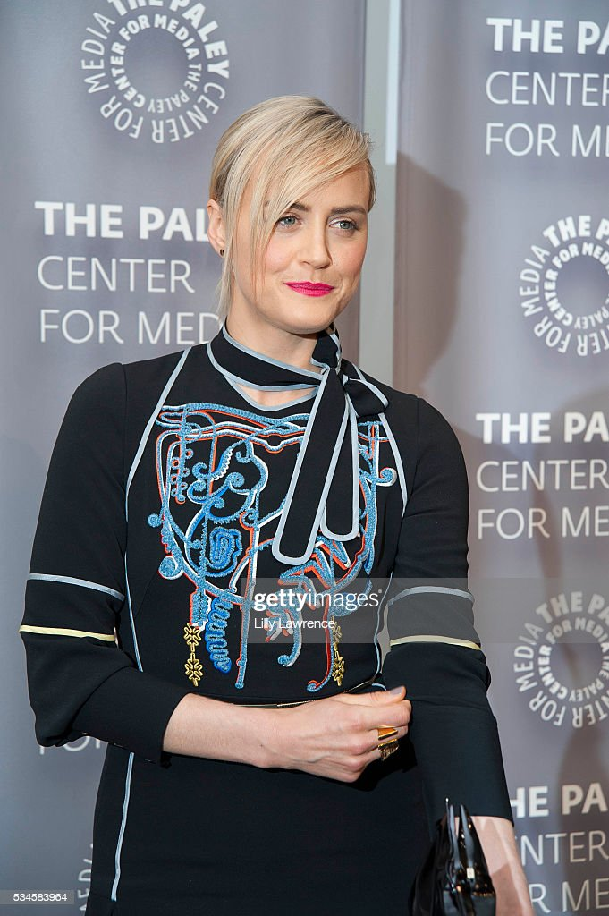 Actress Taylor Schilling attends Paleylive