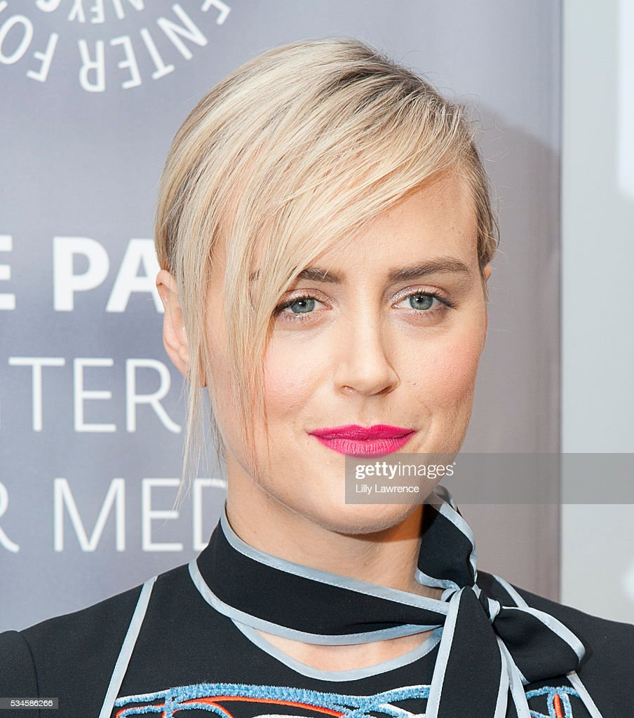 Actress <a gi-track='captionPersonalityLinkClicked' href=/galleries/search?phrase=Taylor+Schilling&family=editorial&specificpeople=5852086 ng-click='$event.stopPropagation()'>Taylor Schilling</a> attends Paleylive