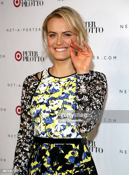Actress Taylor Schilling attends Peter Pilotto For Target Launch at Gotham Hall on February 6 2014 in New York City